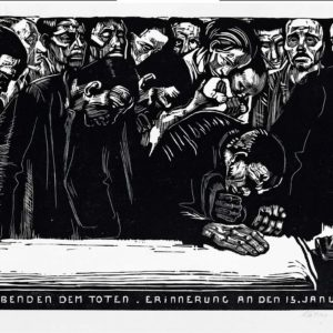 Gedenkblatt für Karl Liebknecht