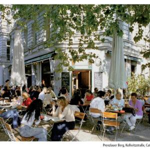 Prenzlauer Berg, Kollwitzstraße, Café »Sowohlalsauch«